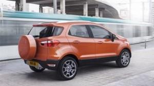 Ford Ecosport motability car rear