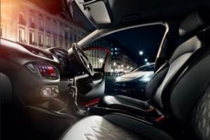 Vauxhall Corsa Motability car interior