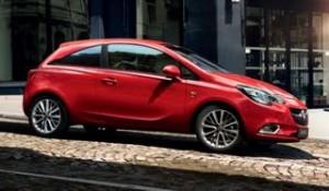 Vauxhall Corsa Motability car side