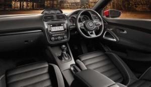 Volkswagen Scirocco motability car inside