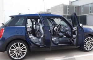 Mini 5 door motability car doors