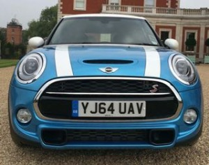 Mini 5 door motability car front
