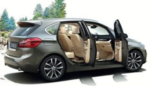 BMW 2 Series Active Tourer motability car side