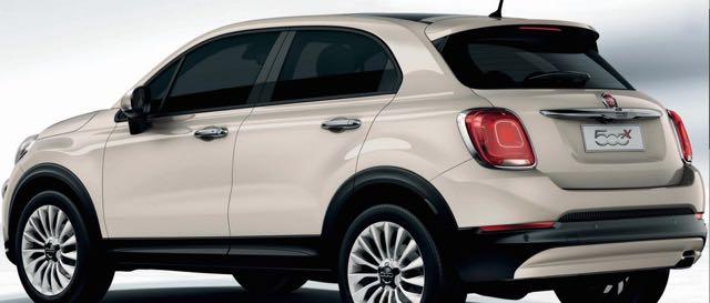 Fiat 500x Motability Car