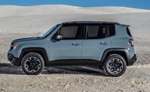 Jeep Renegade Motability Car side