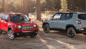 Jeep Renegade Motability Car two