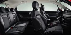 Fiat 500X Motability Car side cut away