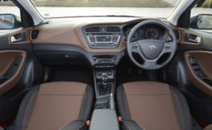 Hyundia i20 motability car dashboard