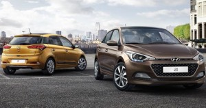 Hyundia i20 motability car front and back
