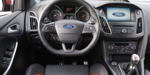 Ford Focus ST motability car dash