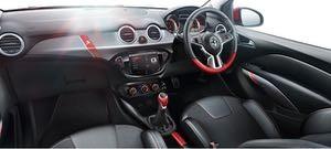 Vauxhall Adam S motability car interior