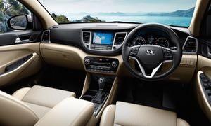 Hyundai Tucson motability car dash