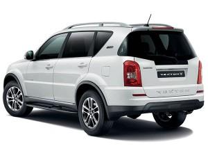 SsangYong Rexton Motability car