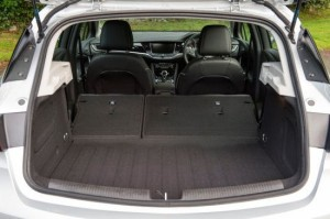 Vauxhall Astra Motability car boot
