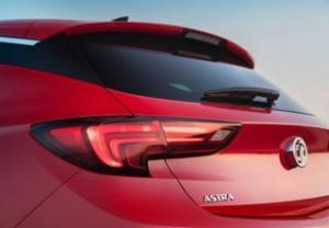 Vauxhall Astra Motability car rear