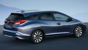 Honda Civic Tourer Motability car