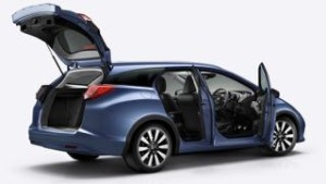 Honda Civic Tourer motability car side