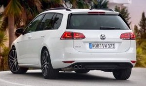 Volkswagen Golf Estate GTD Motability car