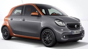 Smart ForFour Motability Car