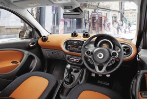 Smart forfour motability car dashboard