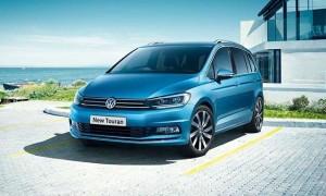 Volkswagen touran Motability car front
