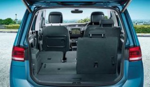 Volkswagen touran Motability car rear