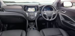 Hyumdai Santa Fe motability car dash