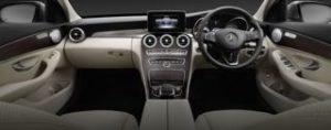Mercedes C-Class Motability Car dash