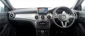 Mercedes CLA Motability Car dash