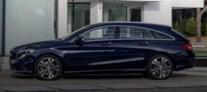 Mercedes CLA Shooting Brake Motability Car side