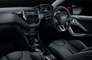 Peugeot 2008 motability car interior