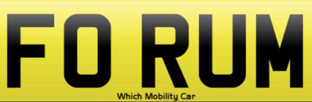We have set up a Forum page. http://www.whichmobilitycar.co.uk/forums/ Please bear with us while we iron out the […]