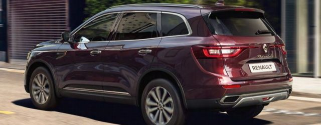The Renault Koleos shares its undegarments with the Nissan X-Trail but unlike the Nissan it's not available […]
