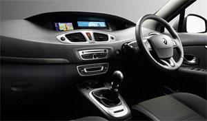 Renault Grand Scenic interior
