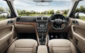 Skoda Yeti Motability car interior dash