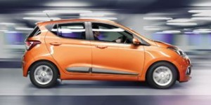 Hyundai i10 motability car side