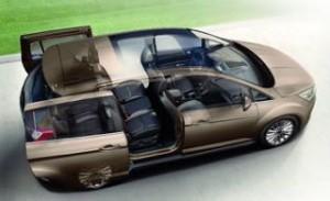 Ford Grand C-Max Motability cut away