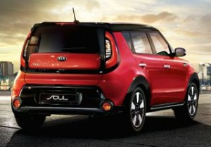 Kia Soul Motability car rear