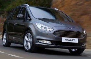 Ford Galaxy Motability car front
