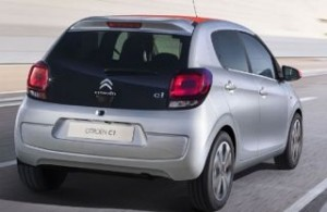 Citroen C1 Motability car rear