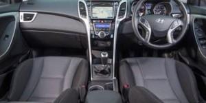 Hyundai i30 motability car dash