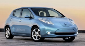 Nissan Leaf electric motability car