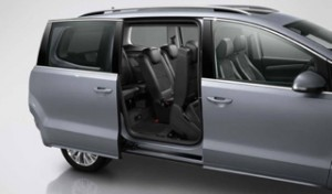 Volkswagen Sharan Motability car sliding door