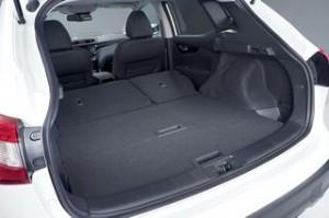 Nissan Qashqai 2014 Motability car boot