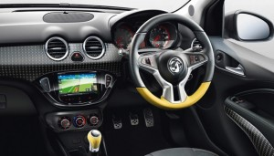 Vauxhall Adam Motability car (dashboard)