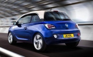 Vauxhall Adam Motability car (rear view)