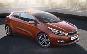Kia Pro Ceed Motability car