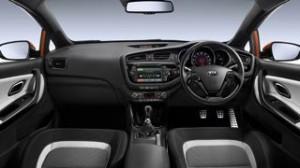 Kia Pro Ceed Motability car interior
