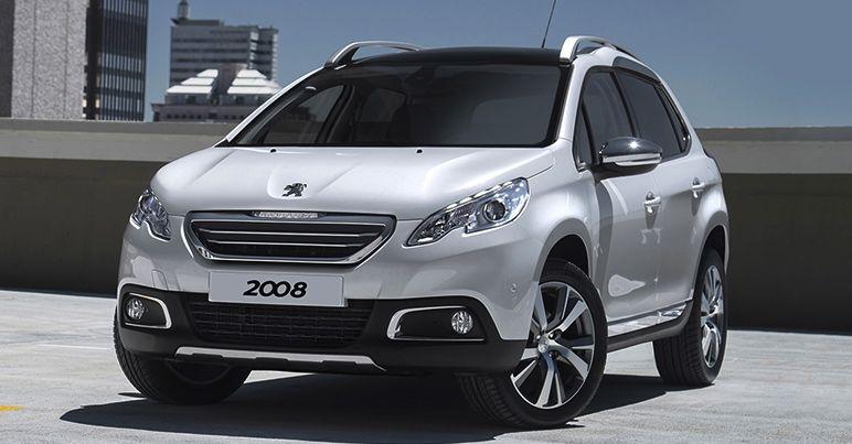 Peugeot 2008 Motability Car Front
