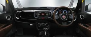 Fiat 500L Trekking motability car dash